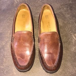 Handsewn Cole Haan Loafers in Cognac, size 8B